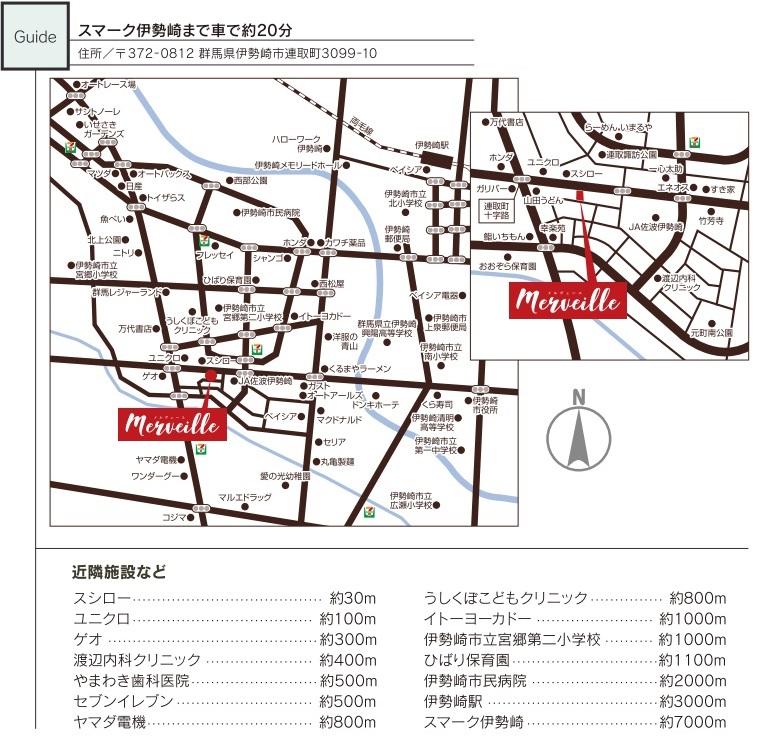 戸建賃貸住宅地図