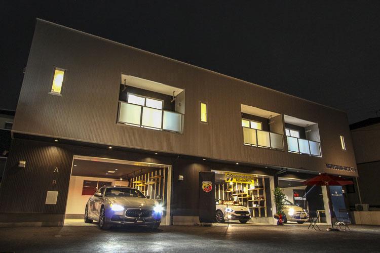 ガレージハウス賃貸アパート
